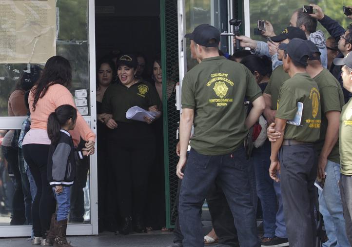 """""""Lucharé por la libertad de los presos políticos"""": Nestora Salgado"""