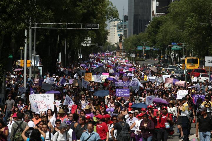 Primera Movilización Nacional contra las Violencias Machistas