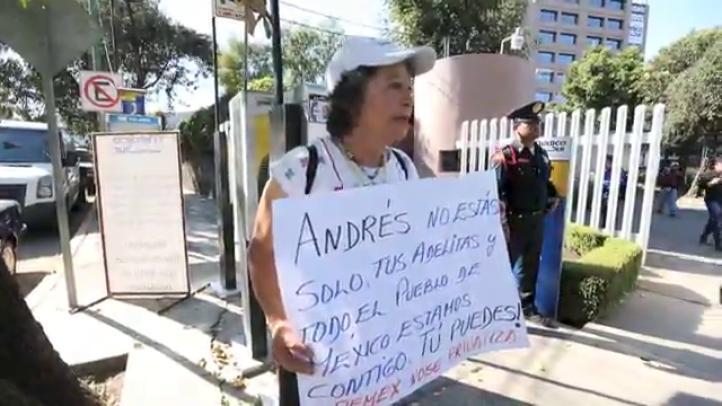 Expresiones de apoyo a Andrés Manuel López Obrador