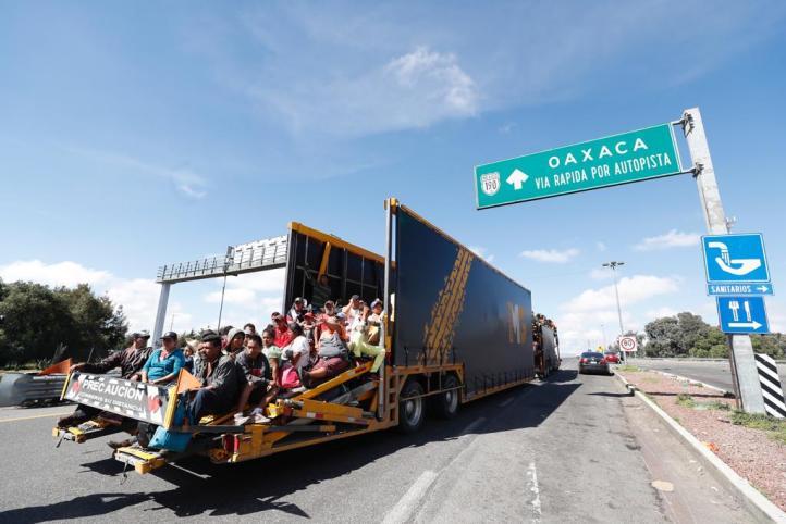 PF facilita transportación segura a migrantes