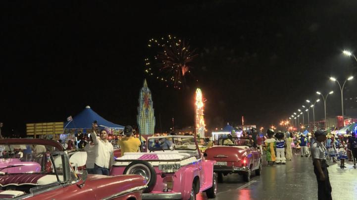 La Habana de fiesta en los Carnavales
