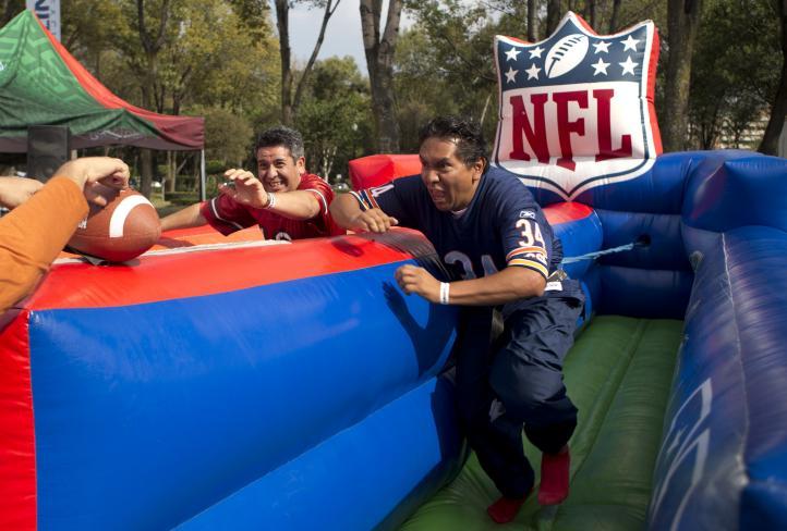 Ciudad de México, urbe con más seguidores de la NFL fuera de EU