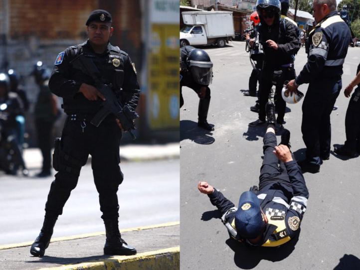 Megaoperativo en Tláhuac y enfrentamiento en Xochimilco