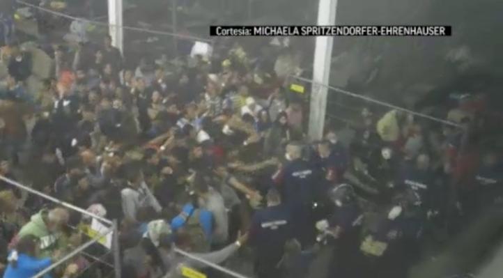 Denuncian maltrato en campamento de migrantes