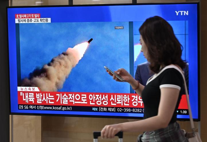 Corea del Norte lanza dos proyectiles; Japón descarta amenaza