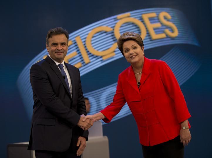 Agresivas campañas dividen voto en Brasil