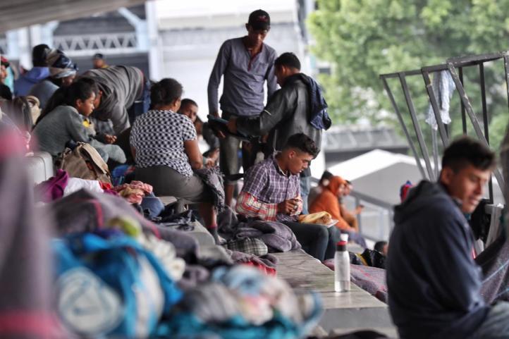 Llegan los primeros migrantes a la Ciudad de México