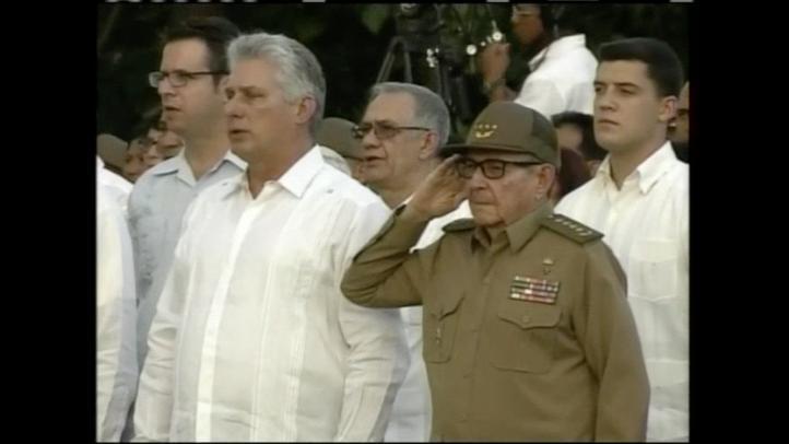 Respalda Raúl Castro al gobierno cubano a 60 años de la revolución