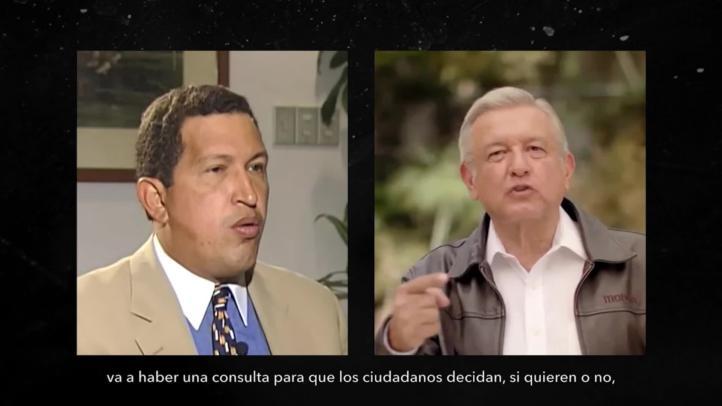 El PAN compara a Hugo Chávez con  AMLO