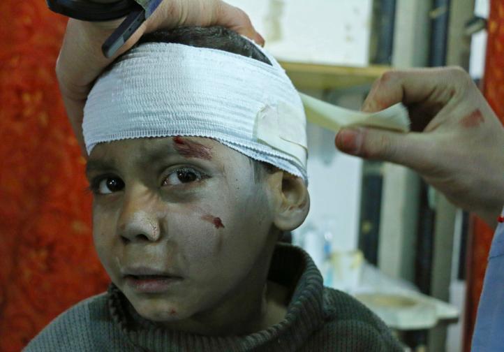 La violencia interrumpe la entrega de ayuda en Ghouta, Siria