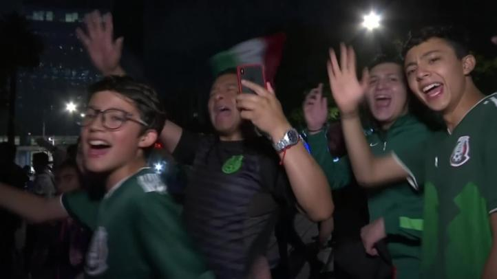 México celebra victoria en Copa de Oro