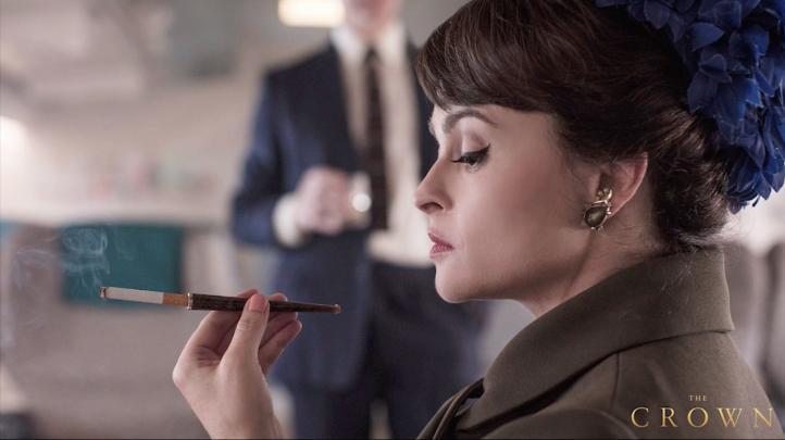 Primera imagen de Helena Bonham Carter en 'The Crown'