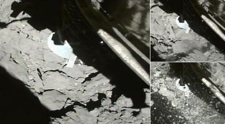 La nave Hayabusa 2 aterriza en un asteroide por segunda vez