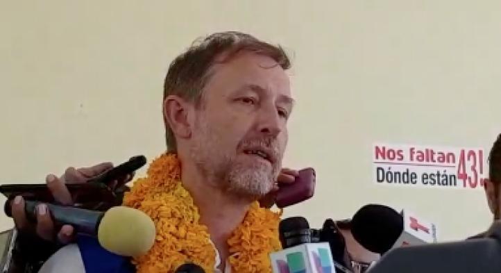 El Alto Comisionado de la ONU refrenda apoyo a los familiares de los 43