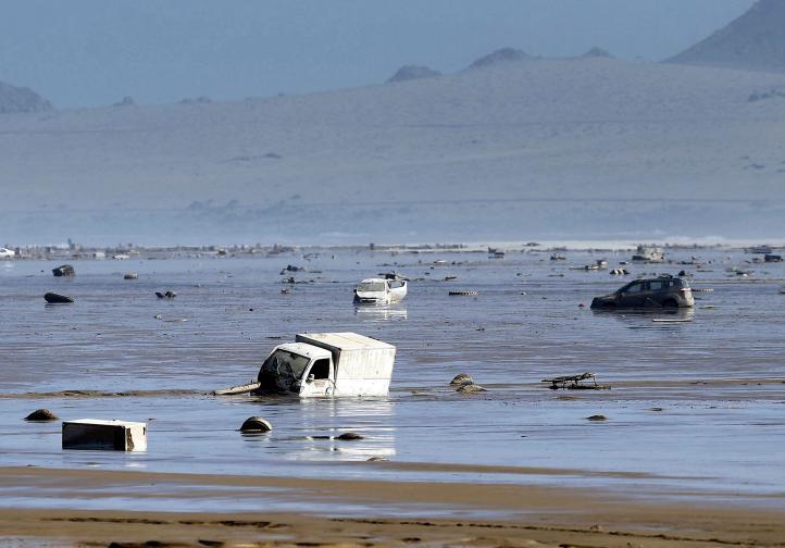 Chile y Perú afectados por inundaciones