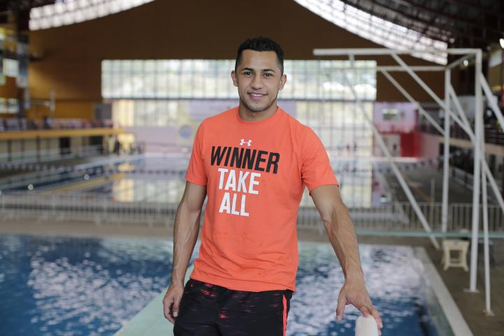 Jahir Ocampo al fin va a Juegos Olímpicos, tras no estar en Pekín y Londres