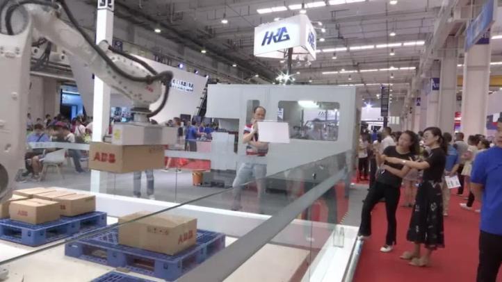 Expo de robótica en China en medio de tensión por aranceles