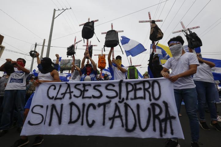 Protestas en Nicaragua contra Daniel Ortega
