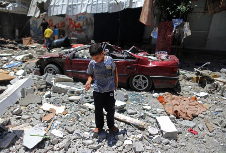 Israel intensifica ataque aéreo contra franja de Gaza