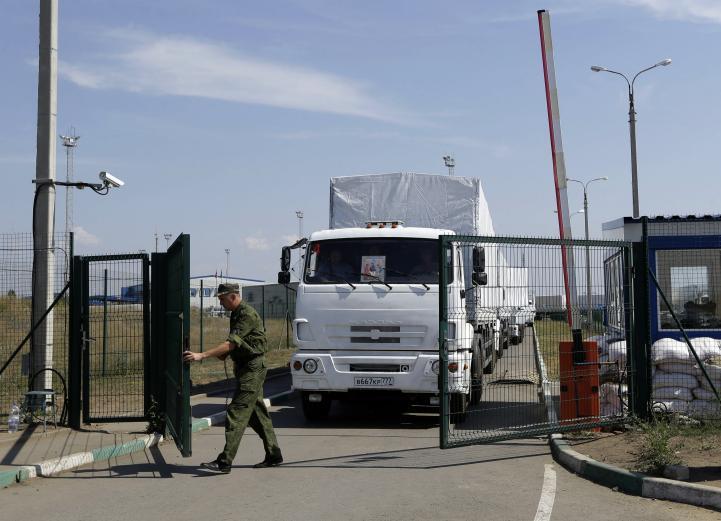 "Denuncia Ucrania ""invasión rusa"" tras entrada de convoy humanitario"