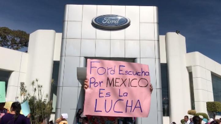 En Xalapa, protestan contra Trump