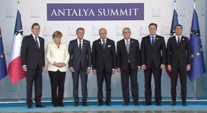 Cumbre del Grupo de los 20 marcada por ataques en París