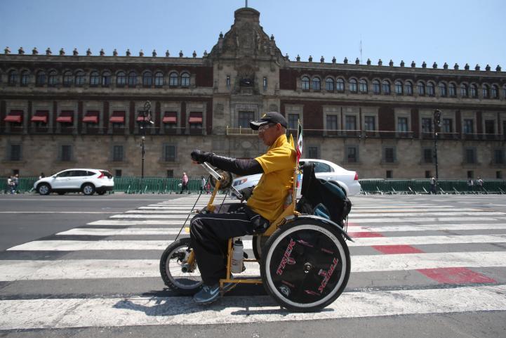 De Colombia a México… en sillas de ruedas
