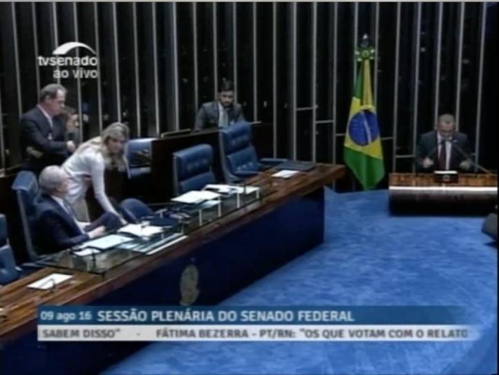 Senado aprueba juicio contra Dilma Rousseff