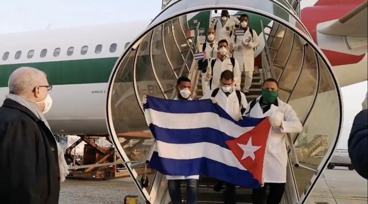 Cuba se suma a la lucha de Italia contra el COVID-19