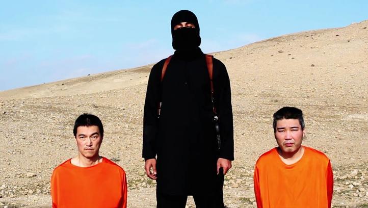 EI difunde video con dos rehenes japoneses; exige 200 mdd para liberarlos