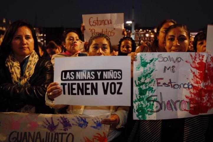 El PAN está detrás de las protestas por estancias infantiles: AMLO