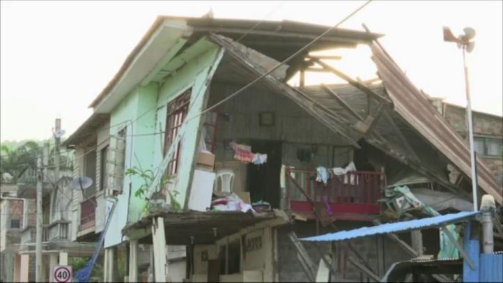 Aumenta el número de víctimas mortales por terremoto en Ecuador