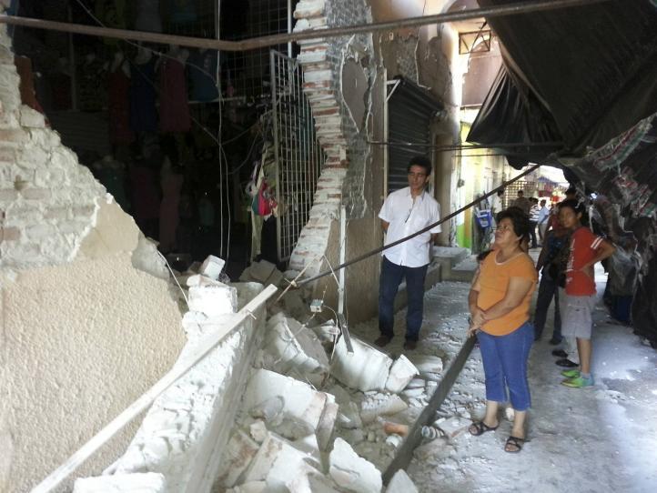 Dos muertos por sismo de 6.9 grados en la costa de Chiapas