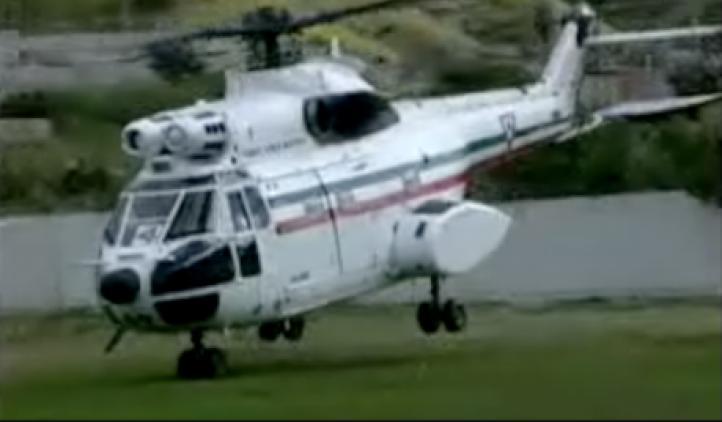Sedena despide a piloto que salvó a reporteros en 2005