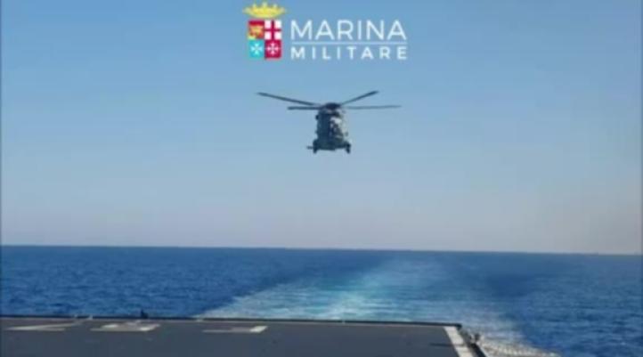 Rescatan a cientos de migrantes frente a las costas de Libia
