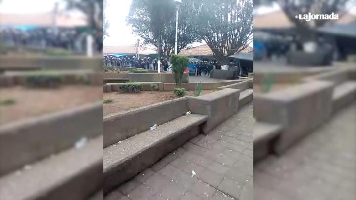 SSP-Michoacán ingresa a Nahuatzen