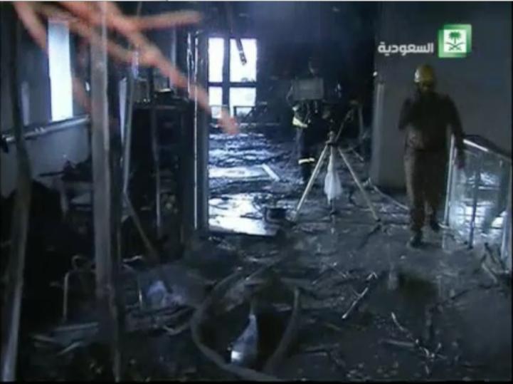 Más de 30 personas fallecieron en un incendio en Arabia Saudita