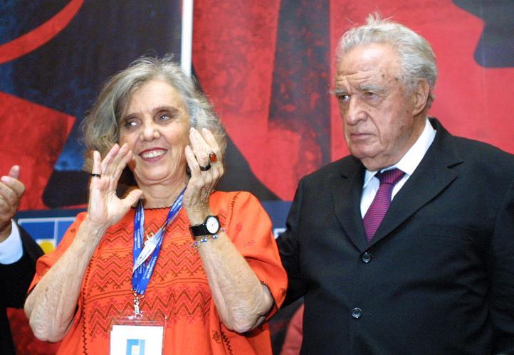 Elena Poniatowska habla sobre Julio Scherer García