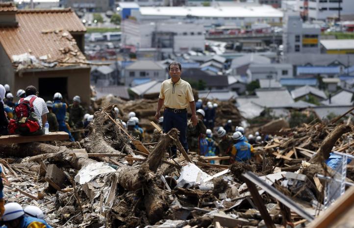 Aumenta a 39 cifra de muertos por temporal en Japón