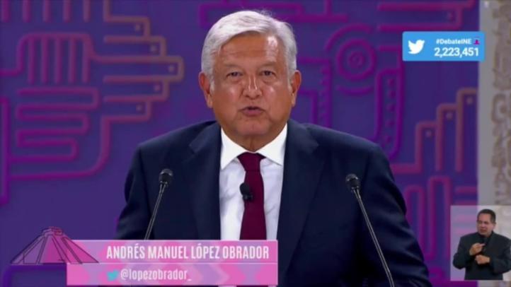 Mensaje final de López Obrador en el tercer debate presidencial