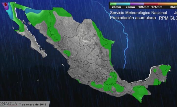 Se mantiene la posibilidad de nevadas en el norte del país