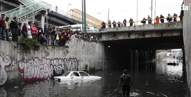Jornada tormentosa para la ciudad de México