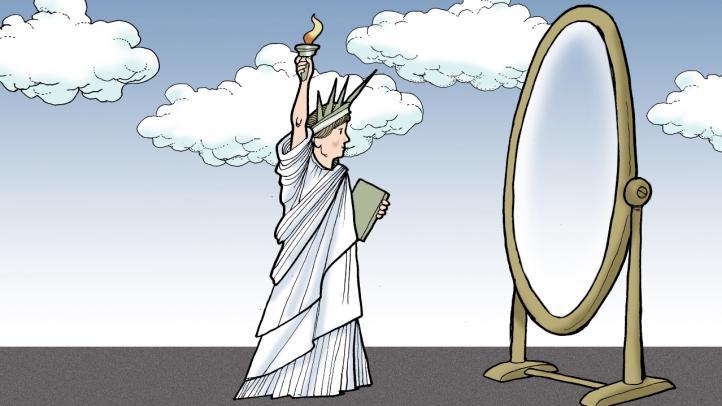 La libertad ante el espejo