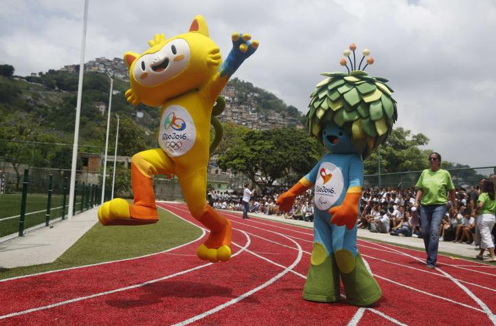 Presentan a la mascota oficial de los Juegos Olímpicos de Río 2016