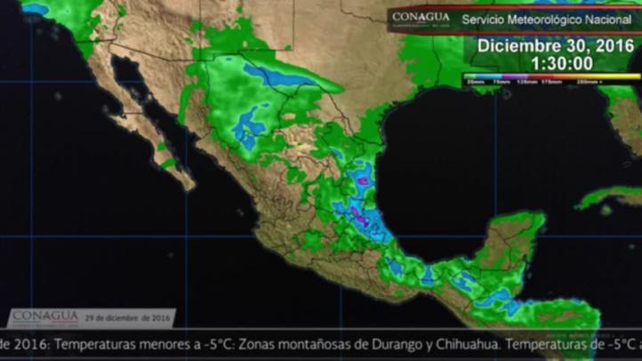 Pronóstico del tiempo para el 29 de diciembre