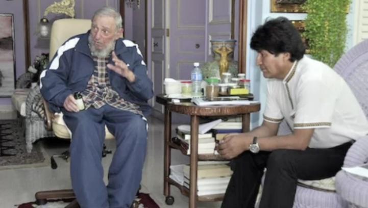 Fidel Castro celebra su cumpleaños con Evo Morales y Nicolás Maduro