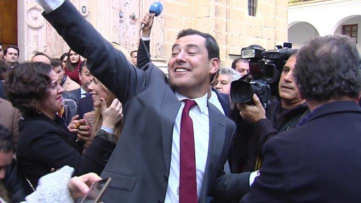 Juan Manuel Moreno, nuevo presidente de Andalucía