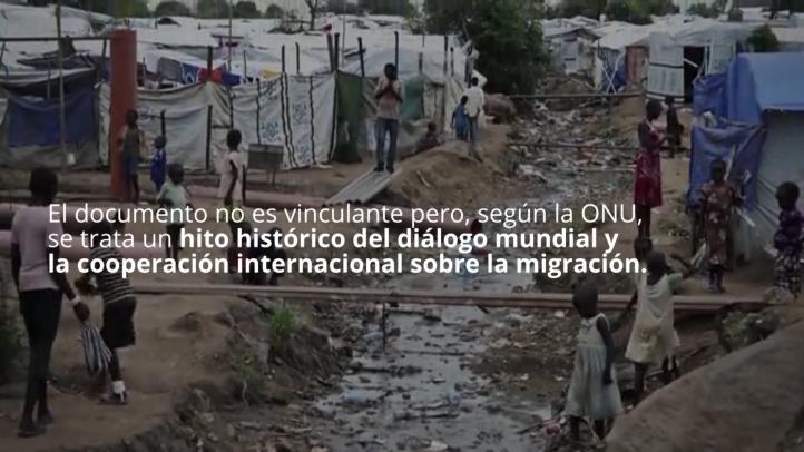 Suscriben 156 países el Pacto Mundial para las Migraciones