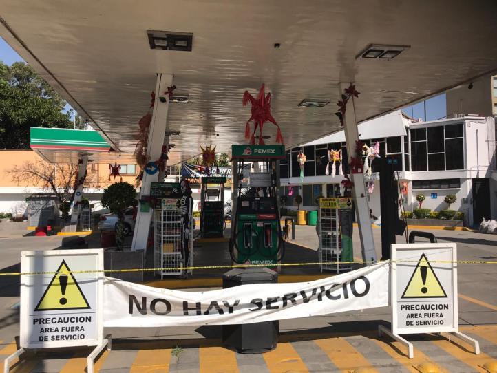 Reportan desabasto de gasolina en CDMX