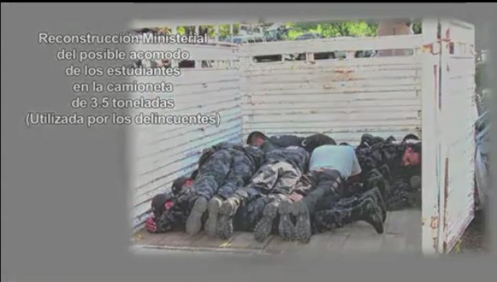 Versión de la PGR sobre el caso Ayotzinapa